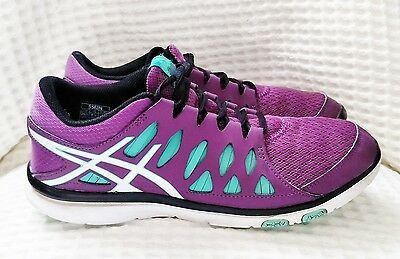 Asics Gel Trainers Womens Training Shoes Size 40 Or 8.5 Us