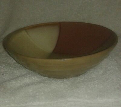 """Sango """"Gold Dust Sienna"""" Soup Cereal Bowl 7 3/4"""""""