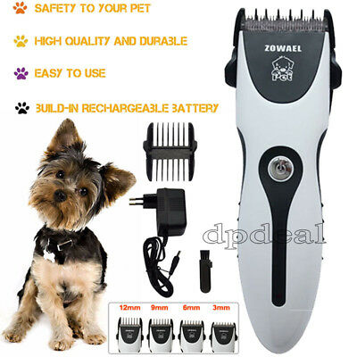 Pet Dog Grooming Pro Kit Electric Animal Hair Shear Clipper Dog Cat Trimmer 220V