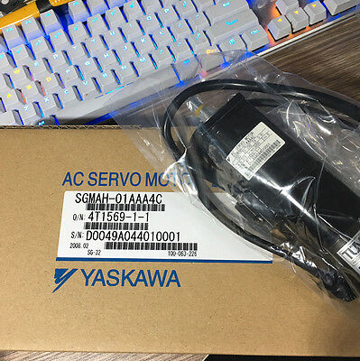 Yaskawa AC servo motor SGMAH-01AAA4C NEW IN BOX !!**via DHL or EMS