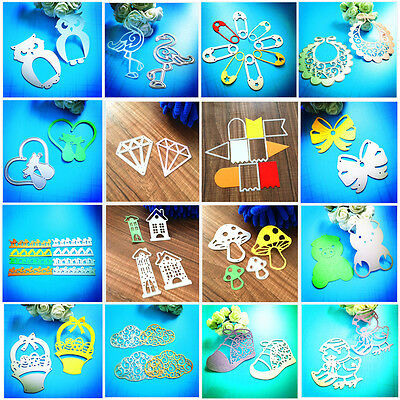 Metal Cutting Dies Stencil DIY Scrapbooking Embossing Album Paper Card Craft Niu