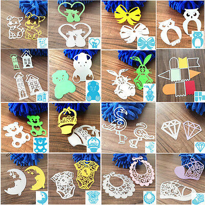Metal Cutting Dies Stencil DIY Scrapbooking Embossing Album Paper Card Craft LEP