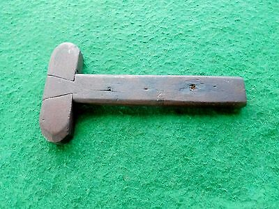 Antique Walnut dovetailed tee square weatherboard or clapboard gauge OLD  E330