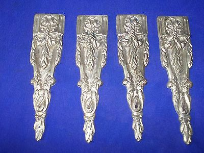 4 pieces vintage  bronze ormolu