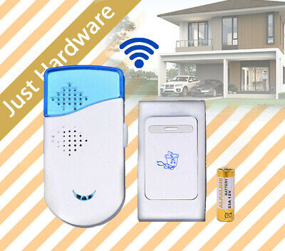 Electronic Wireless Chime Door Bell Doorbell with Remote control Tune Songs
