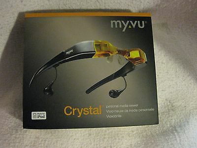 Myvu Crystal Personal Media Viewer, Made for iPod Edition (Amber)