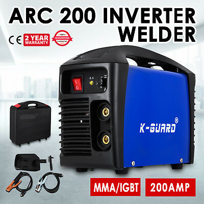 NEW VEVOR SS-ARC 200Amp DC Inverter TIG ARC MMA Welder Stick Welding