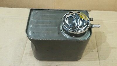 Harley Panhead Police Oil Tank 58-64 FL FLH Duo Glide Resevoir Nice Shape Rare