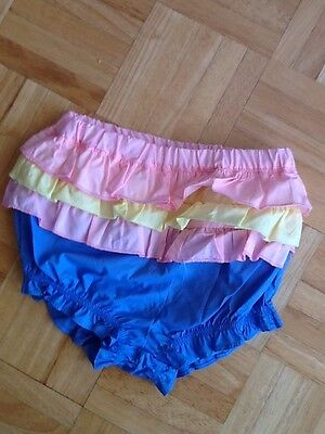 Pumpkin Patch Bloomers Nappy Cover Shorts Frilly 6-12mths 00-1 Brand New Bnwt