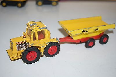 Matchbox Superkings K-5 Muir Hill Tractor & Trailer