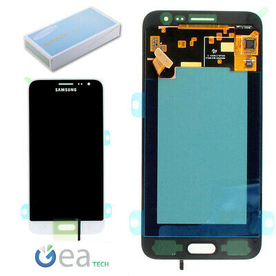 SAMSUNG Display LCD Originale + Touch Screen Per Galaxy J3 2016 SM-J320FN Bianco