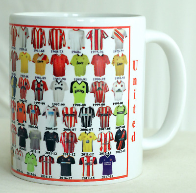 Sheffield United Mug Football shirt history New Gift