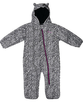 Dare 2b Break The Ice Baby Toddler Snowsuit - Black & White Zebra