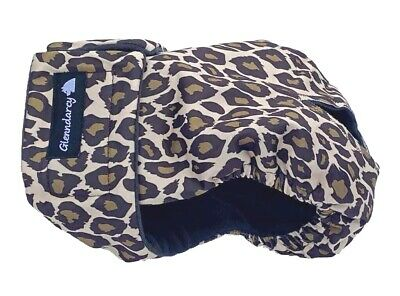 Glenndarcy Female Dog Season Pants Nappy Diaper I Heat I Leopard
