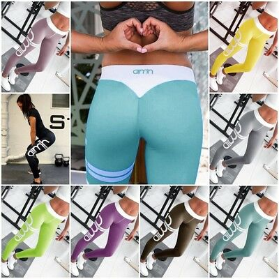 Women Sports Leggings Lady Workout Fitness Gym Yoga Athletic Pants Trousers New