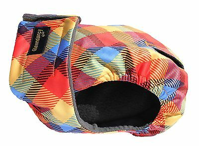 Glenndarcy Washable Female Dog Heat Nappy I Season Pants Diaper I Rainbow