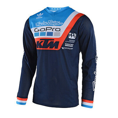 Troy Lee Design KTM GP Air Fahrershirt Prisma Motocross Jersey Quad MX Vented