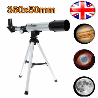 Universal 360x50mm Telescope Refraction Monocular Astronomical Outer Space Scope