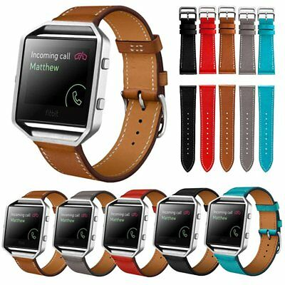 Luxury PU Leather Wrist Watch Strap Band Bracelet For Fitbit Blaze Smart Watch
