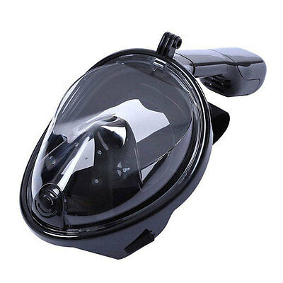 Full Face Snorkeling Mask Scuba Diving Swimming Snorkel Breather for Gopro