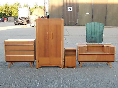 Avalon Yatton teak bedroom furniture wardrobe dressing table chest of drawers ++