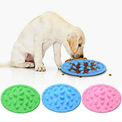 Slow Feeding 1 Pcs Cat Puzzle Food Bowl Digestion Feeder Silicone Silicone Pet