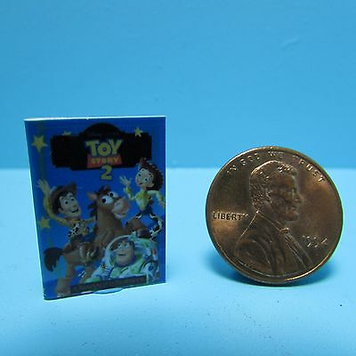 Dollhouse Miniature Replica of Toy Story 2 Book ~ B113