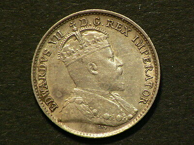 1906 Canada Silver 5 Cents   #G5908