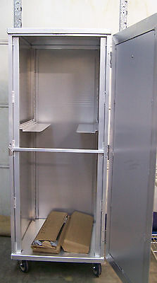 "NEWAGE Universal Enclosed Transport Cabinet BAKERY RACK O/D 27"" X 29.5"" X 70.5"""