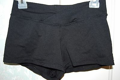 So Danca Black Dance Shorts Size Adult S Excellent Used Condition