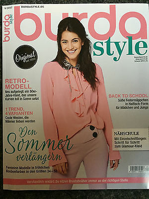 ♥ NEW: Burda Style September-Ausgabe 09/2017 - Magazin mit Nähjournal! ♥