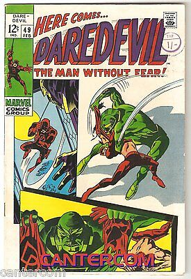Daredevil Marvel Vol1 #49 Fn 1969