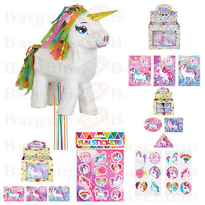 Unicorn Pinata With 60 Toys Pinata Birthday Party Pinata Bash Whack Burst Goodie