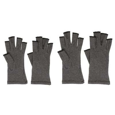 Pair Women Men Cotton Compression Gloves Hand Arthritis Joint Pain Therapy S M
