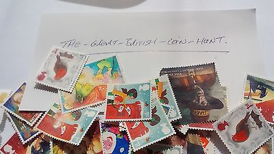 Used Unfranked 1st Class Stamps Children's