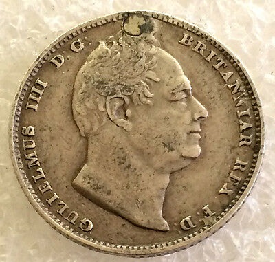 1831 William IV sixpence  # 2