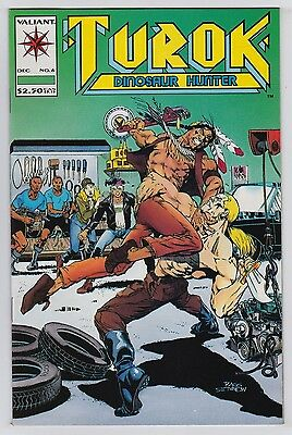 Turok, Dinosaur Hunter #6 mint High Grade Valiant 1993!!! great comic