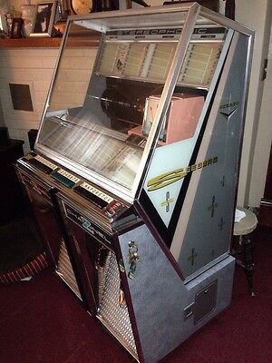 Seeburg 220 Or 222 Jukebox Sideglass Decal Set-Time Is Running Out!