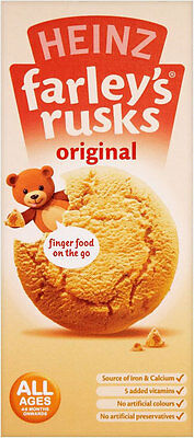Heinz Original Farleys Rusks 4 Months 150G