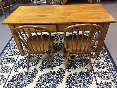 Antique Child's Desk and Chairs