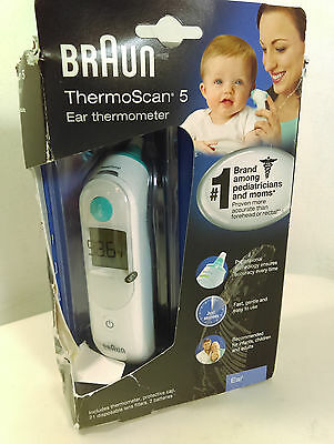 Braun ThermoScan 5 Ear Thermometer for Baby Infant Kids IRT6500 [MR70-TH5]