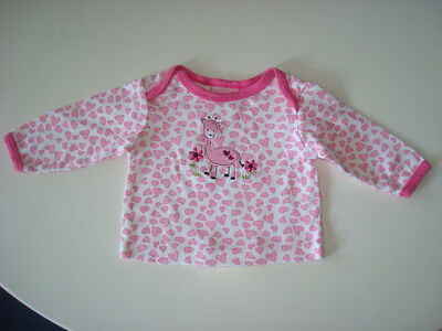 CARTER'S Girls size 0-3 mo Cute GIRAFFE Tee