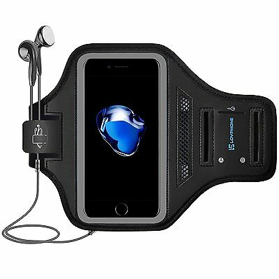 New iPhone 7 Plus Gym Armband Sportband Sport Running Workout Crossfit Band Case