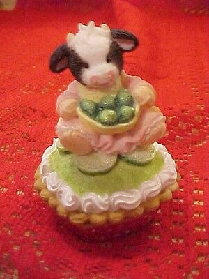 ❤ MOO HOLD THE KEY TO MY HEART ❤   ❤Mary's Moos ❤PIE COLLECTION ❤RARE KEY LIME