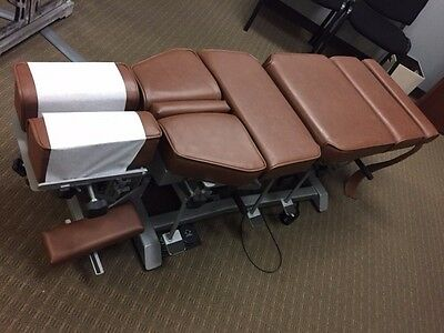 Omni Elevation and Manual Flexion Chiropractic Adjusting Table with Drops