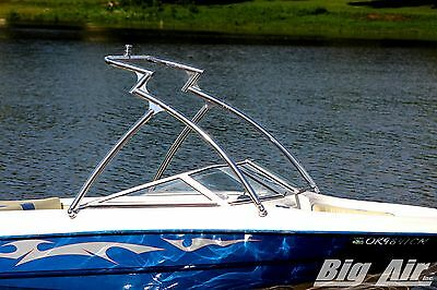 "Big Air Predator Tower || Wakeboard Tower || Polished || 2.25 "" tubing"
