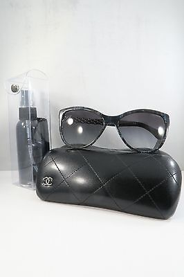4afb9dab99 CHANEL WOMEN S GRAY Sunglasses with case 5326 c.1527 S6 58mm ...