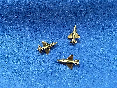 Lot of 3 1970's Vintage US Navy A-4 Skyhawk Pins