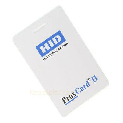 Smart Card 1326 ProxCard II Access Cards Key Fobs 125kHz 26 Bit with10 Keycards