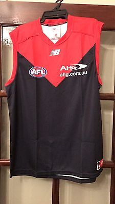 Melbourne Football Club 2017 Home Guernsey Brand New